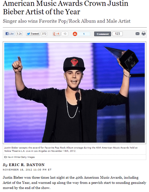 Music music awards nooooooo rip the end is nigh justin bieber