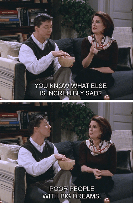 nostalgia,actor,will and grace,TV,90s,megan mullally,funny,sean hayes