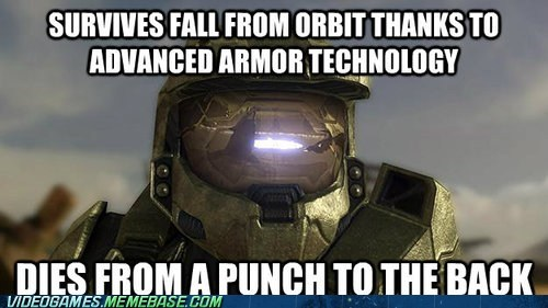 shields don't matter master chief halo weak assassination - 6788372224