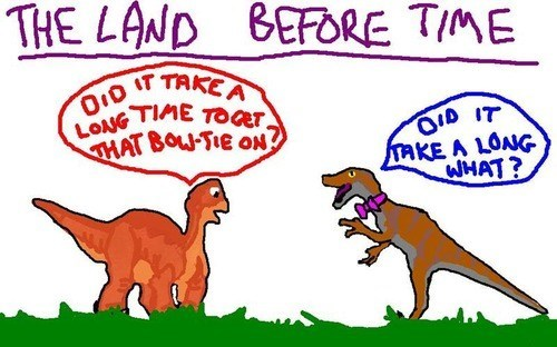 The Land Before Time,time,literalism,double meaning,classic