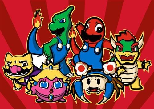 crossover video games mario - 6788566528