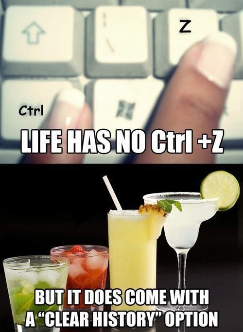 ctrl + z clear history blackout drunk - 6788577536