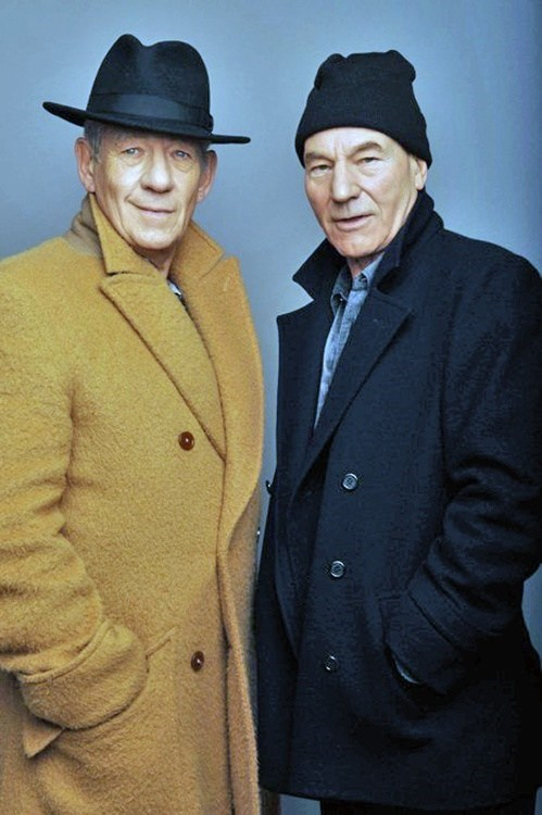 Magneto and Xavier Are Quite Stylish