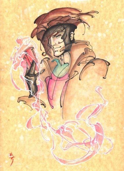 art x men gambit amazing - 6789089280