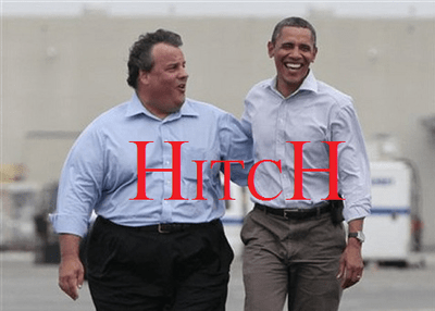 bromance Chris Christie best friends hitch Movie barack obama - 6789105920