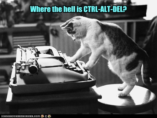 Where the hell is CTRL-ALT-DEL?