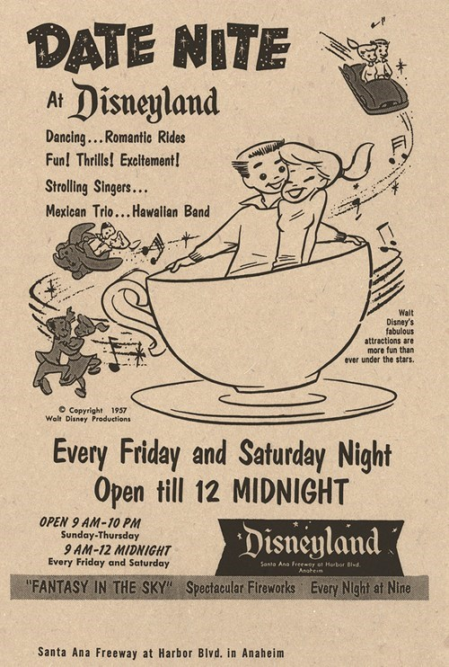 advertisement teenagers date nite disneyland - 6789190144