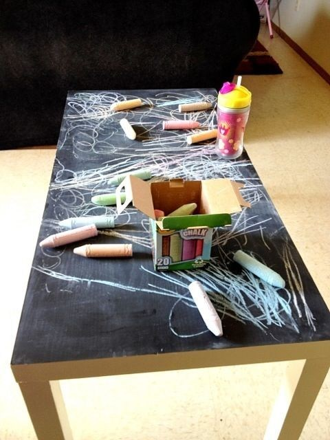 art coffee table design chalk - 6789286656