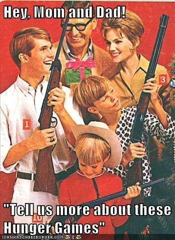 christmas guns gifts hunger games - 6789534208