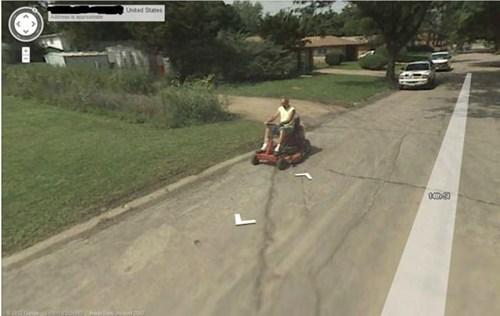 google maps,tractor,redneck,google street view
