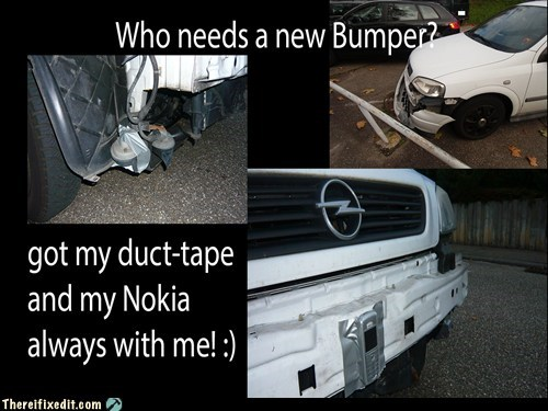 car bumper,nokia,bumper