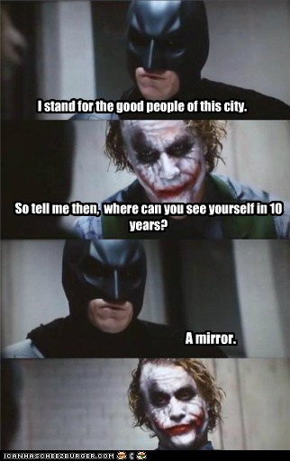 joker mirror Movie batman the dark knight - 6791505664