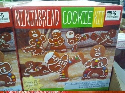christmas ninja ginger bread man ninjabread man holidays - 6791685888