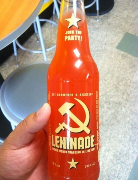 lemonade,soda,leninade,communism