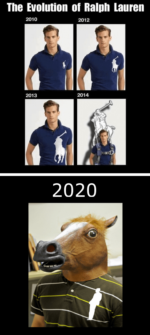 polo shirt,horse mask,Ralph Lauren