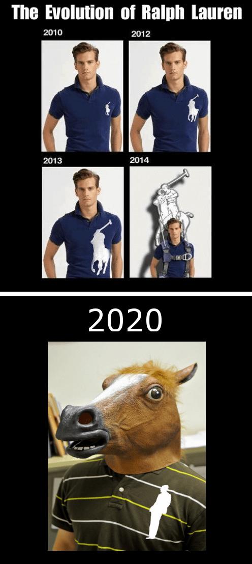 polo shirt horse mask Ralph Lauren - 6791886848