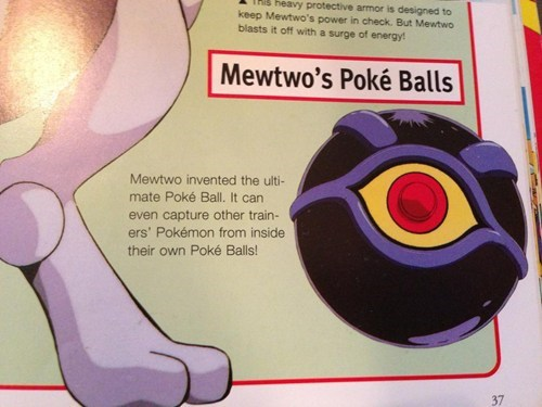 catching trainer's pokemon,ultimate poke ball,mewtwo