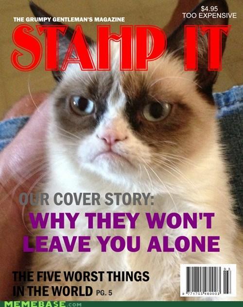 tardar sauce magazine Grumpy Cat stahp magazines grumpy tard Cats - 6792140544