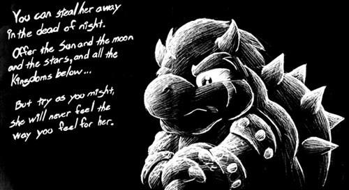 Sad feels bowser mario - 6792264704