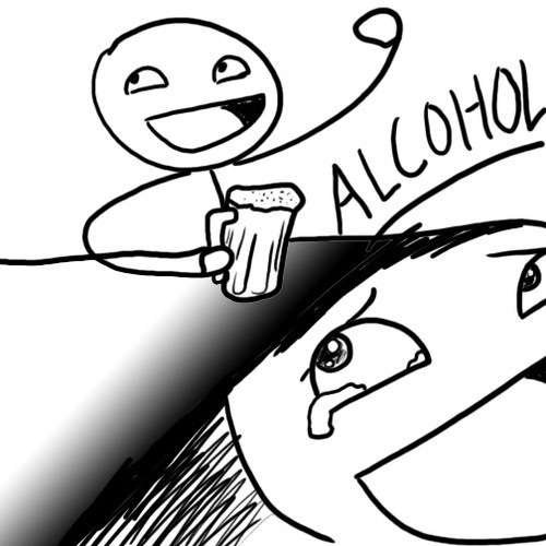 alcohol SO HAPPY cartoons - 6792264960
