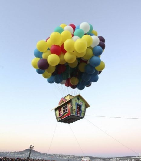 up,Hot Air Balloon,pixar,stunt,balloon