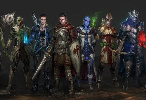 art mass effect dragon age