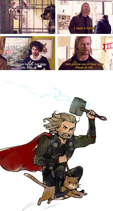 Thor art Movie actor chris hemsworth funny - 6792505856