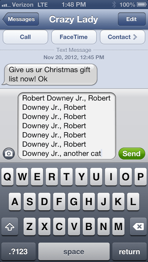 robert downey jr text actor phone funny - 6792603392