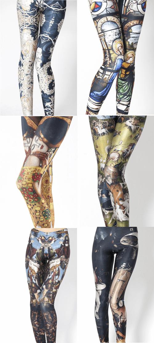 famous art leggings - 6792611072