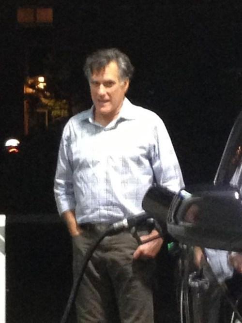 car gas Mitt Romney Awkward - 6792624896