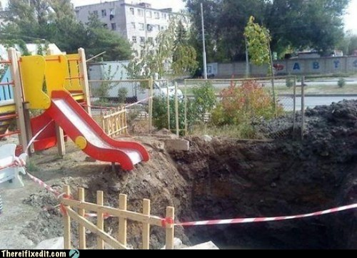 russia russian playground slide playground meanwhile in russia - 6792876800