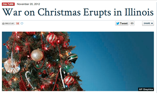 christmas,War on Christmas,fox news,illinois