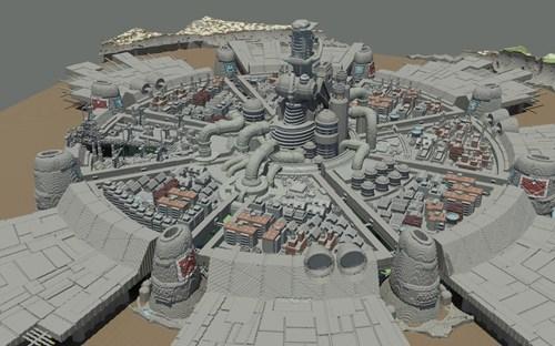 crossover final fantasy midgar minecraft video games - 6792986112