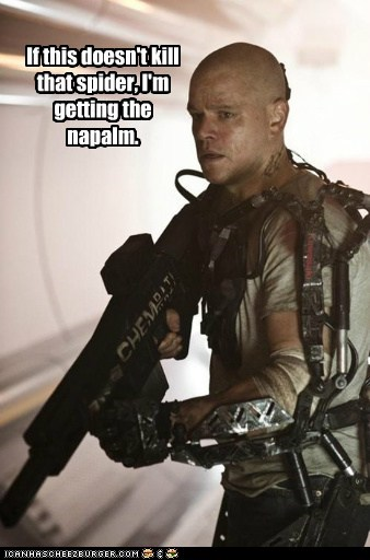 matt damon Movie actor elysium funny - 6793018880