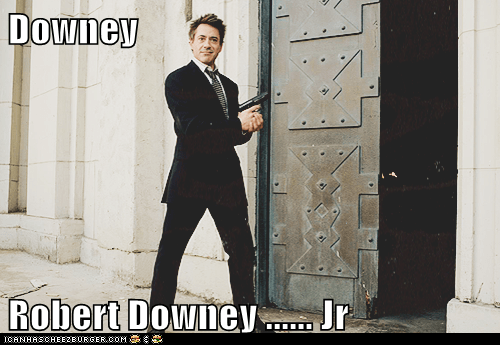Downey  Robert Downey ...... Jr