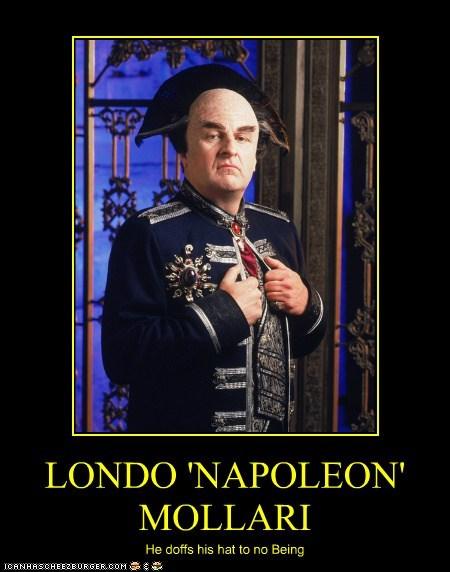 Babylon 5 napoleon peter jurasik londo mollari - 6793137408
