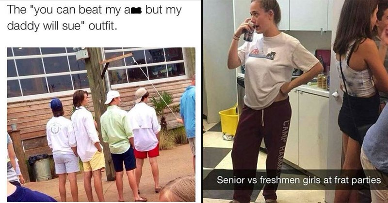 Funny memes about the Greek system, frats, sororities