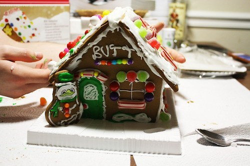 candy,christmas,butt,house,IRL,gingerbread house