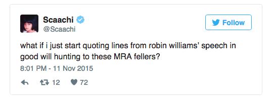 twitter sjw feminist list trolling MRA - 679429