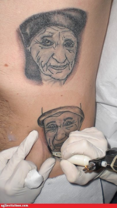 portrait tattoos faces - 6794442752