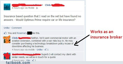 transformers,life insurance,optimus prime,car insurance