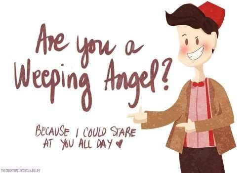 weeping angel pick-up lines doctor who dating fails g rated - 6795231232