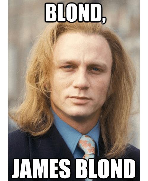 Daniel Craig actor james bond 007 funny