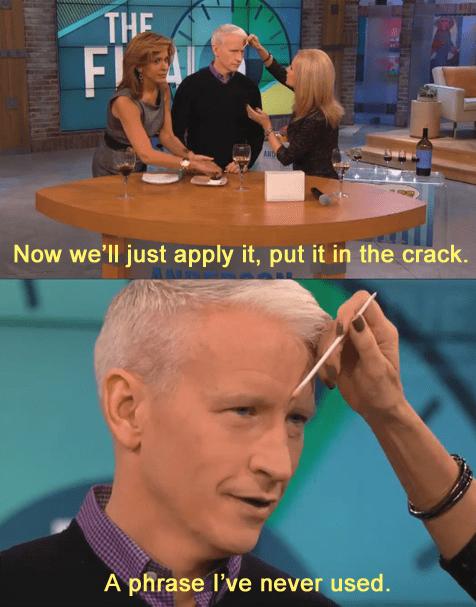 TV,celeb,Anderson Cooper,funny