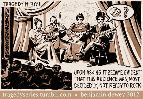 concert,old timey,comic,rock music