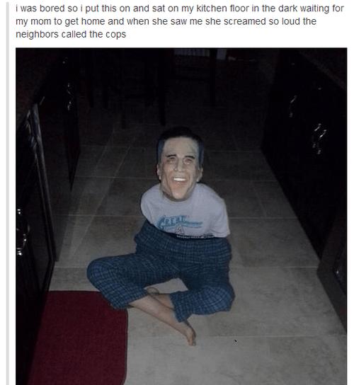 scary Mitt Romney mask - 6795502336