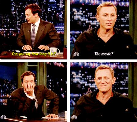 late night with jimmy fallon Daniel Craig jimmy fallon NBC TV funny - 6795552768