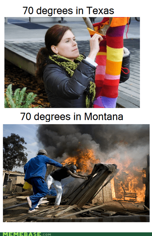 Montana,texas,temperature
