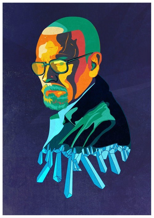 breaking bad art amc TV bryan cranston - 6795578624