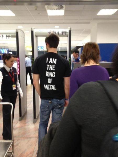 metal detector t shirts heavy metal - 6795801088